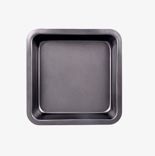Black top view png. Baking clipart baking pan