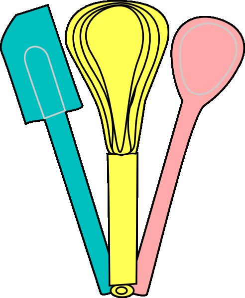 Utensils clip art panda. Baking clipart baking utensil