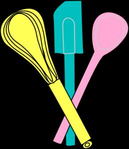 Baking clipart baking utensil. Utensils clip art at