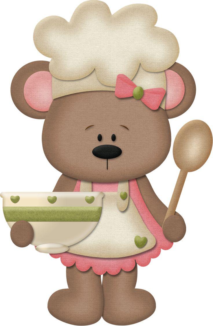 best ursinho images. Baking clipart bear