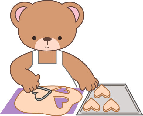 Baking clipart bear. Cupcakes cakes cookies recipe