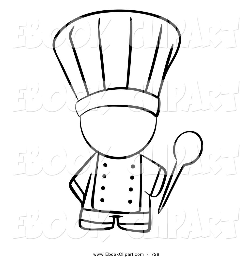 Baking clipart black and white. Images for cooking partypartyparty