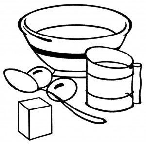 Equipment clip art old. Baking clipart black and white