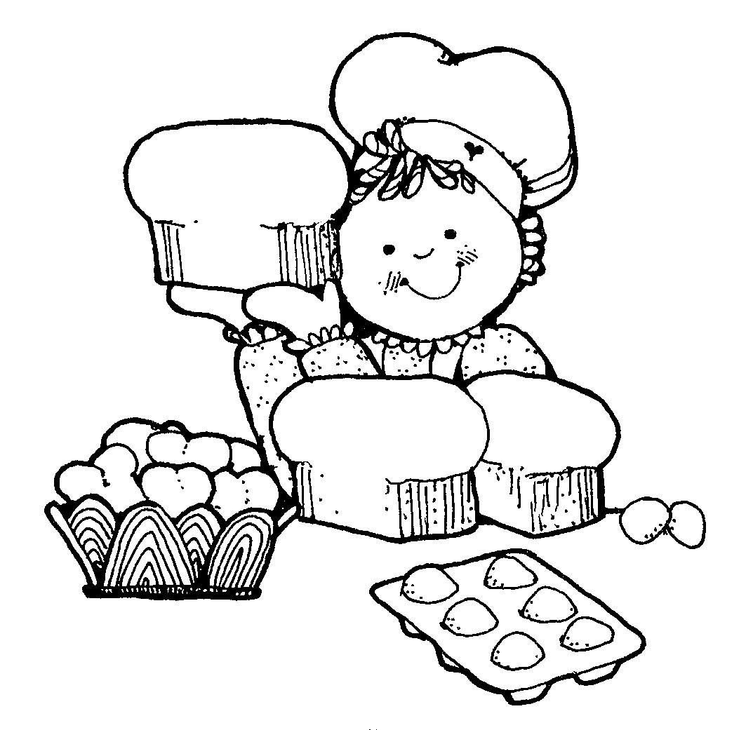 Baking clipart black and white. Letters pertaining to