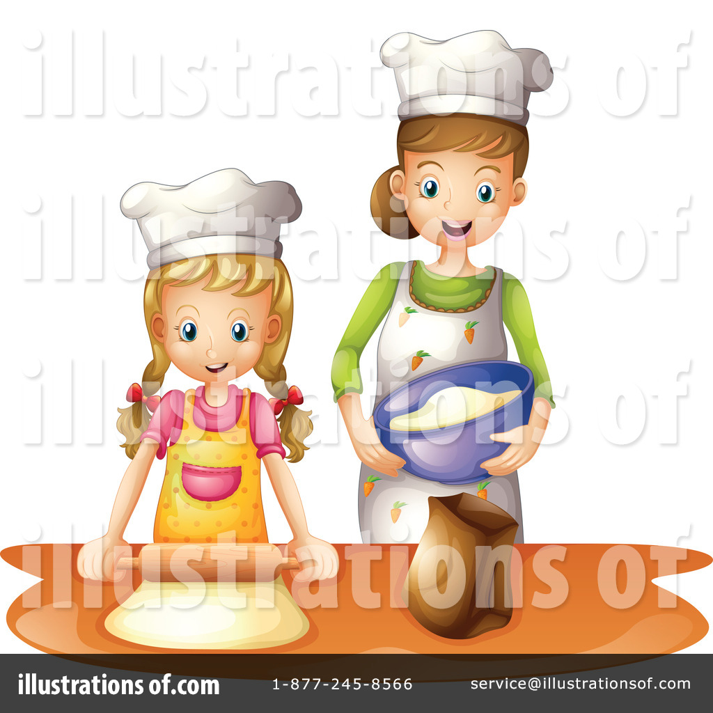 Baking clipart boy. Illustration by graphics rf