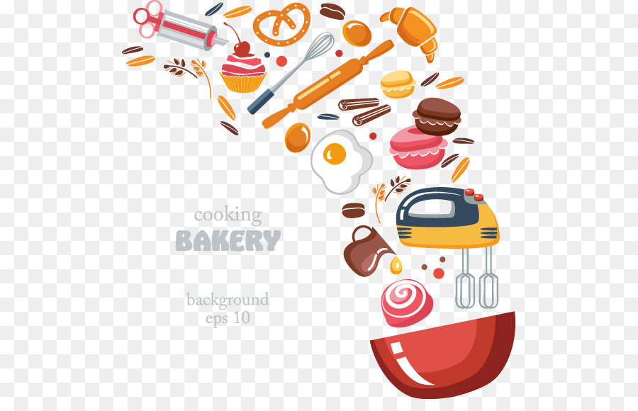 Baking clipart bread. Bakery pizza cooking creative