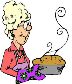 Cartoon people clip art. Baking clipart bread
