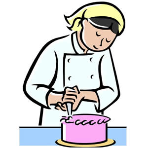 Cake Decorating Clipart