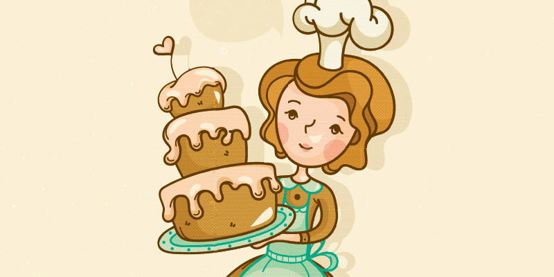 women who are. Baking clipart cake baking