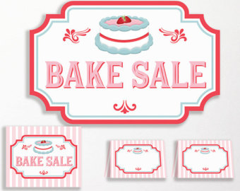Baking clipart cake stall. Sale sign incep imagine