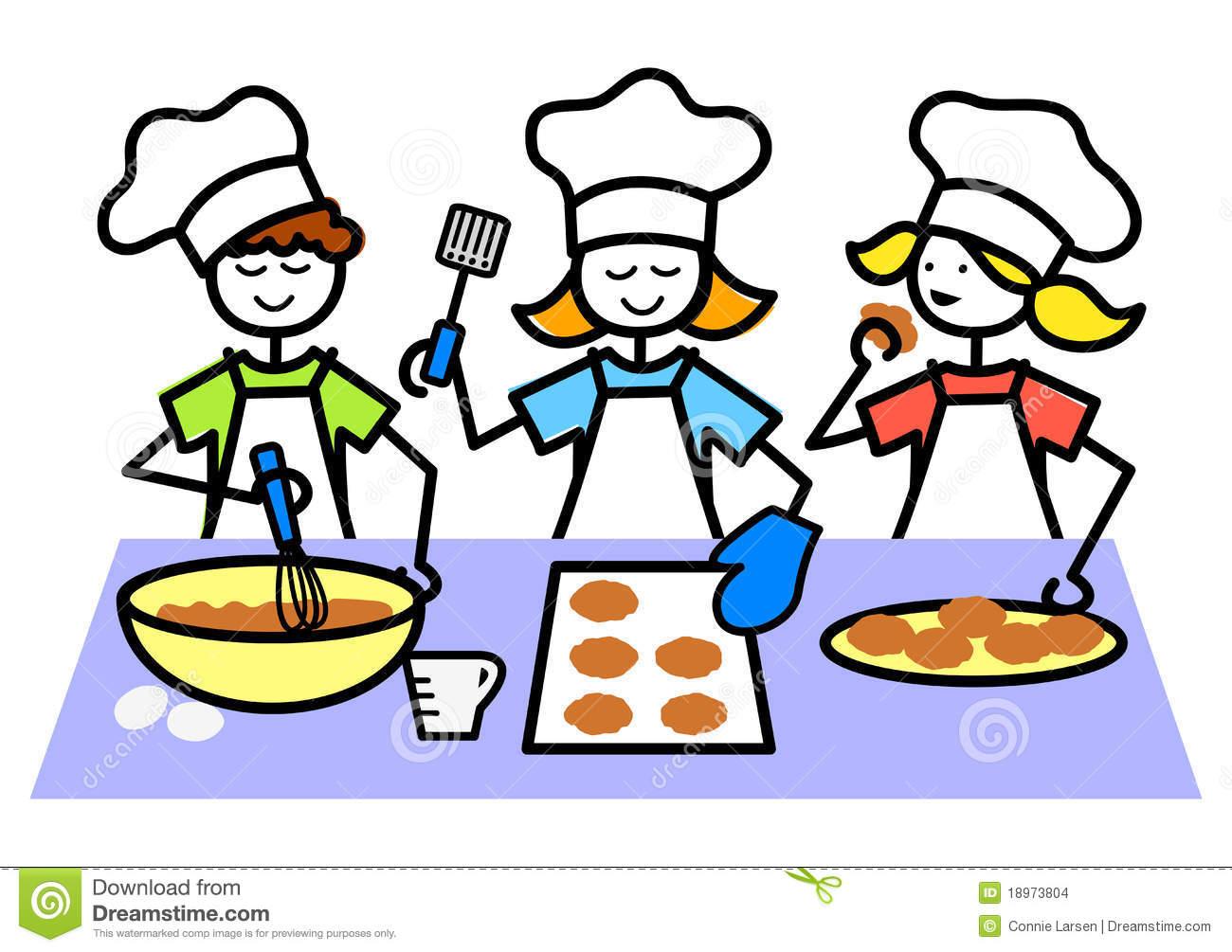 Baking clipart cartoon. Kids cookies panda free