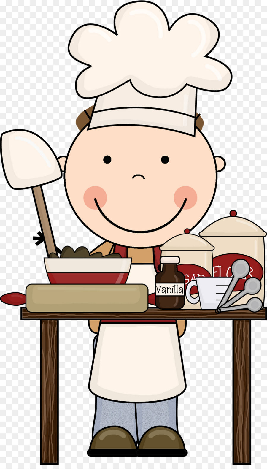 Cooking clip art pictures. Baking clipart child