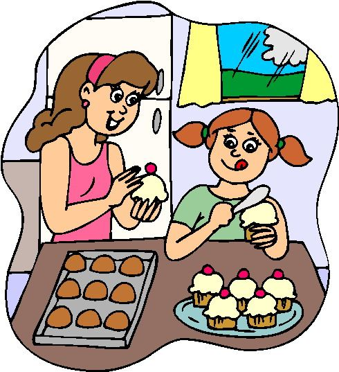 Baking clipart child.  best illustration and