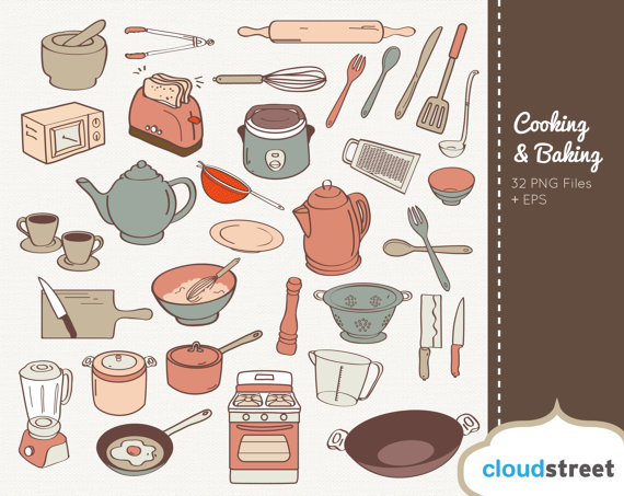 Baking clipart culinary art. Buy get free cooking