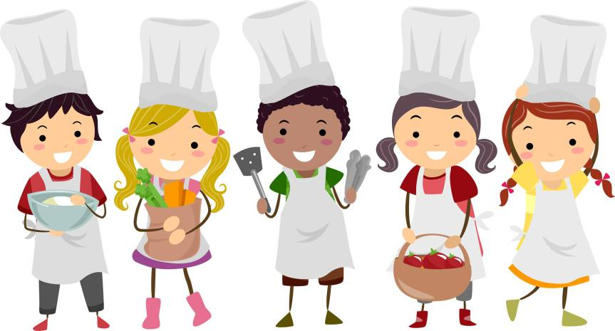 Cooking gluten free food. Baking clipart culinary art