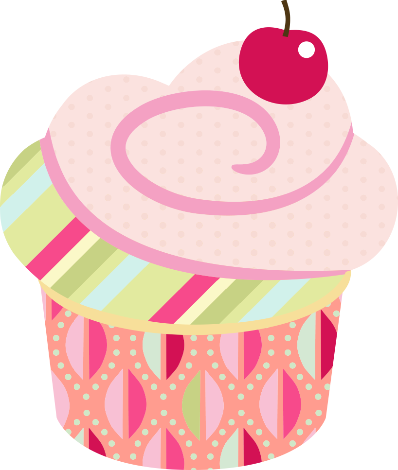 Baking clipart cupcake. Scrap festa pinterest