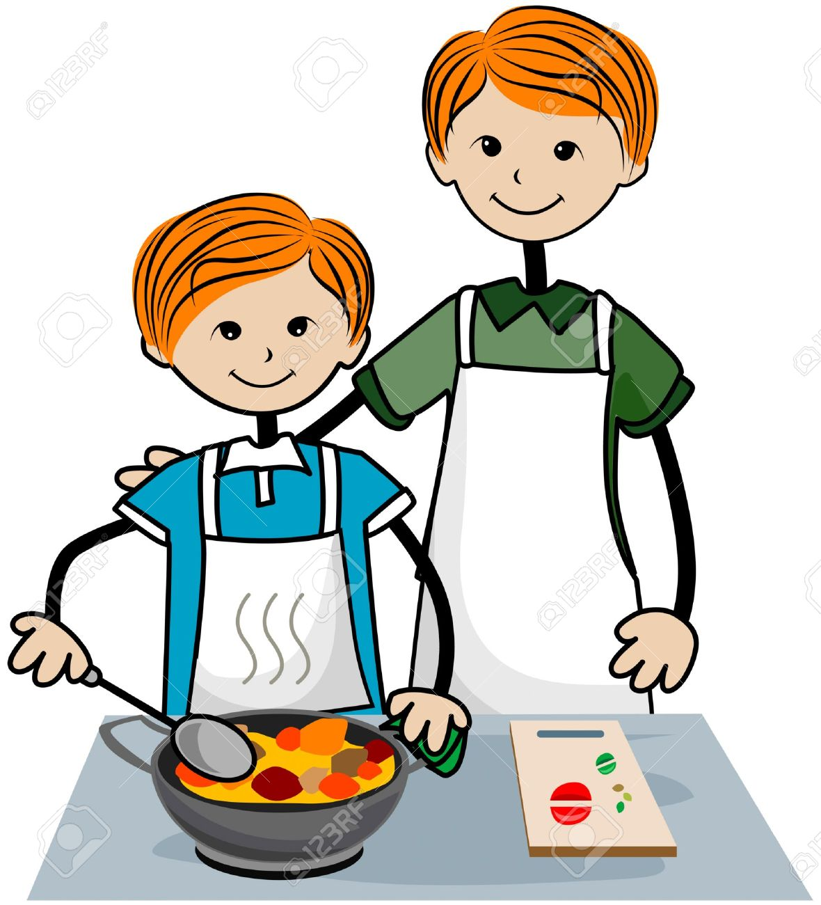 Mother cooking free download. Dad clipart baking