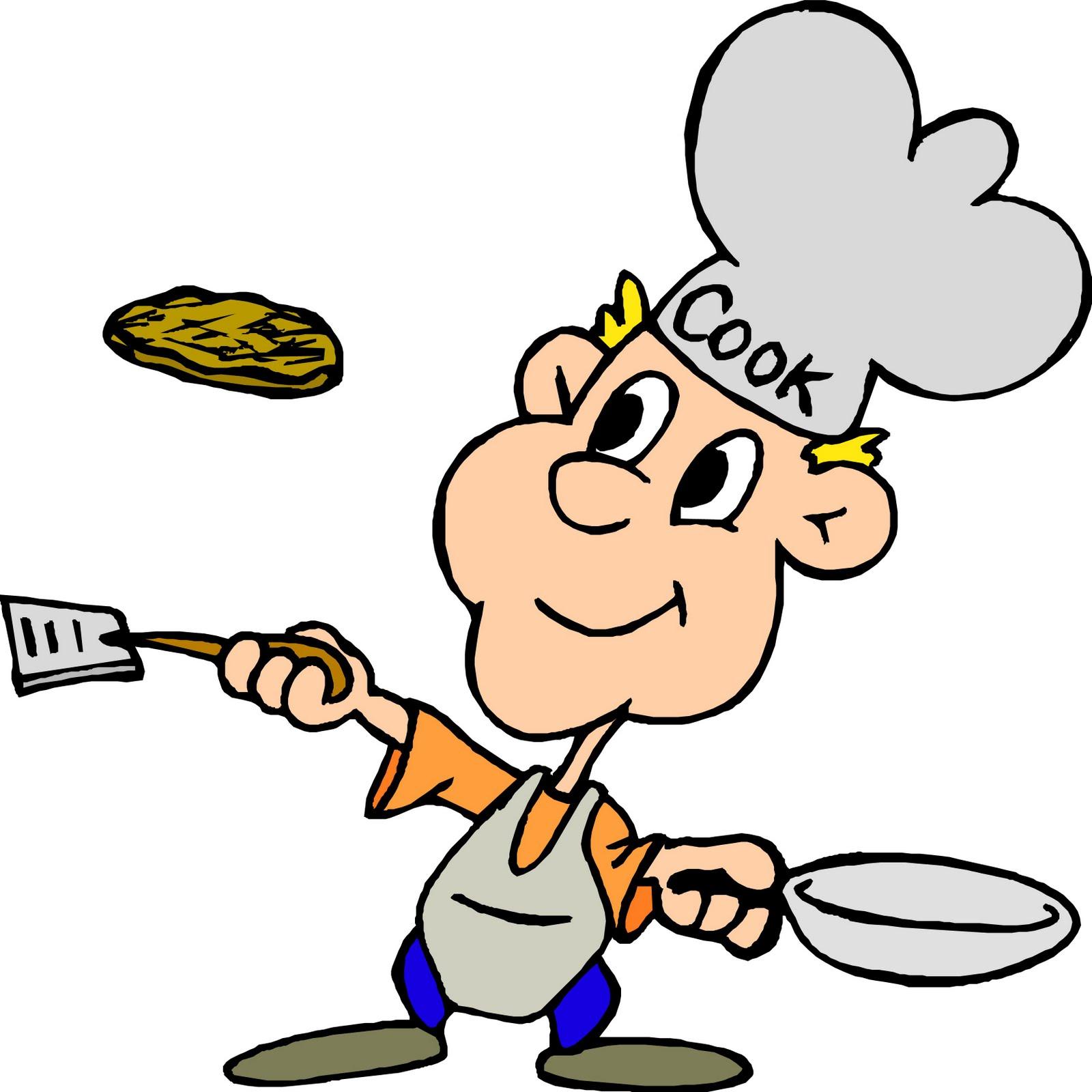 Pancake clipart men's breakfast. Free chef school cliparts