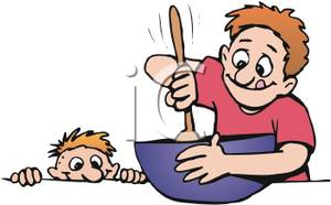 Baking clipart dad. Cooking free download best