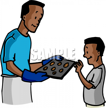 The clip art directory. Baking clipart dad