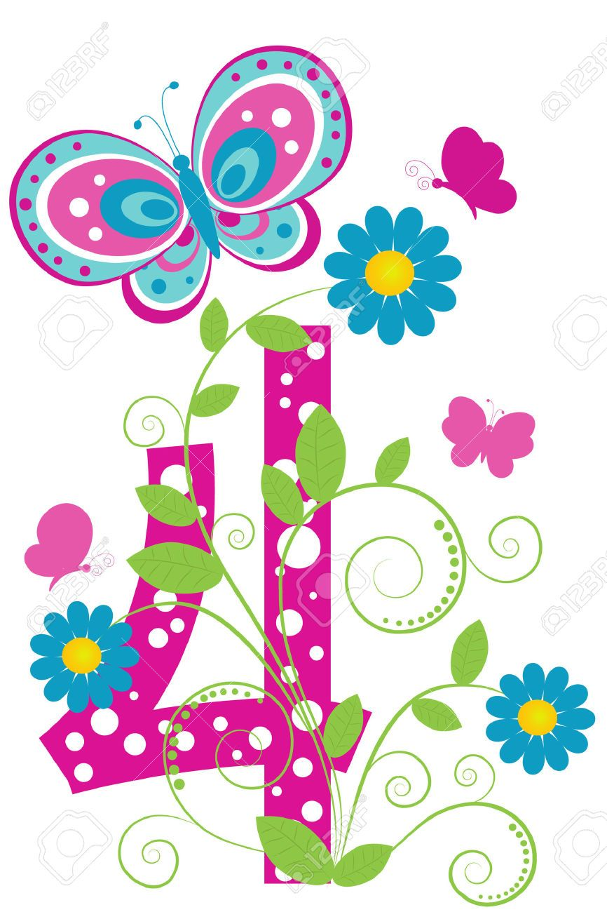 Baking clipart flower. Fun digit with flowers