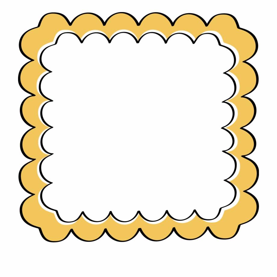 Baking clipart frame. Banner nice border design