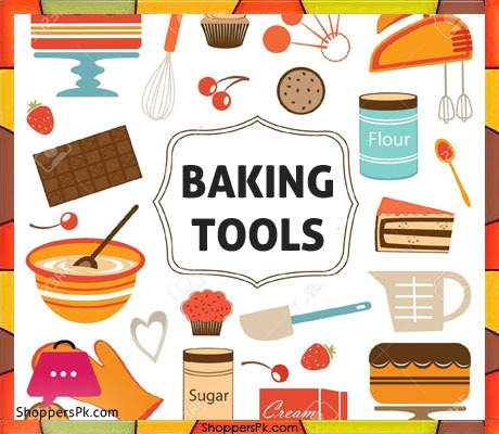 Supplies in pakistan . Baking clipart home baking