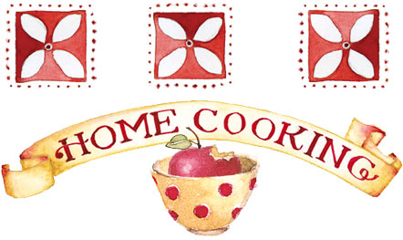 Cooking summer susan branch. Baking clipart home baking