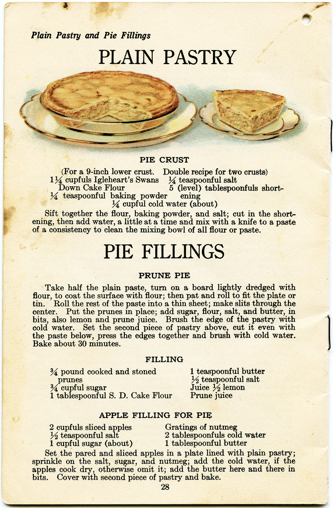 Baking clipart mix ingredient. Vintage pastry recipe pie