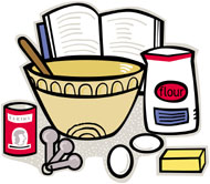 Ingredients supplies in kolkata. Baking clipart mix ingredient