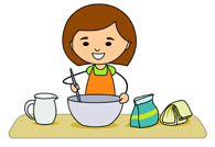 Search results for hen. Baking clipart mix ingredient