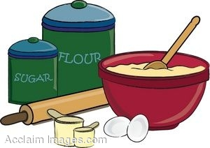 . Baking clipart mixing bowl