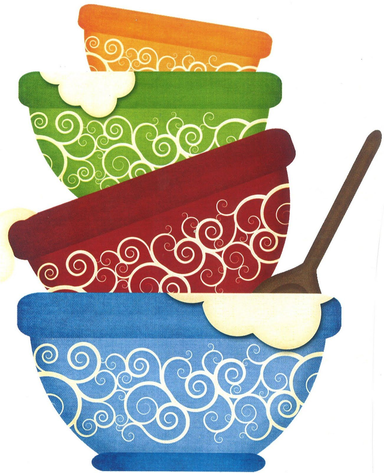 Baking clipart mixing bowl. Pin by lynn mcrea