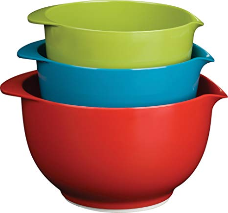 Baking clipart mixing bowl. Amazon com trudeau melamine