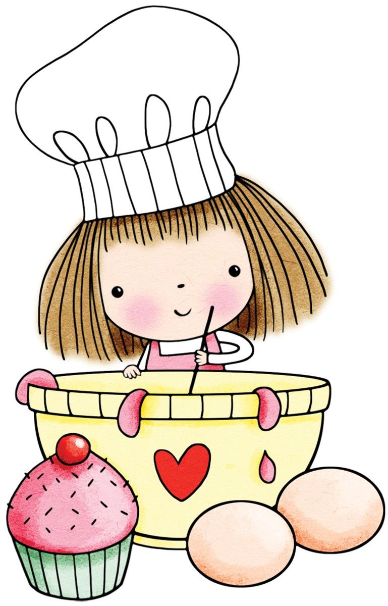 Baking clipart muffin. Yummy mimi penny black