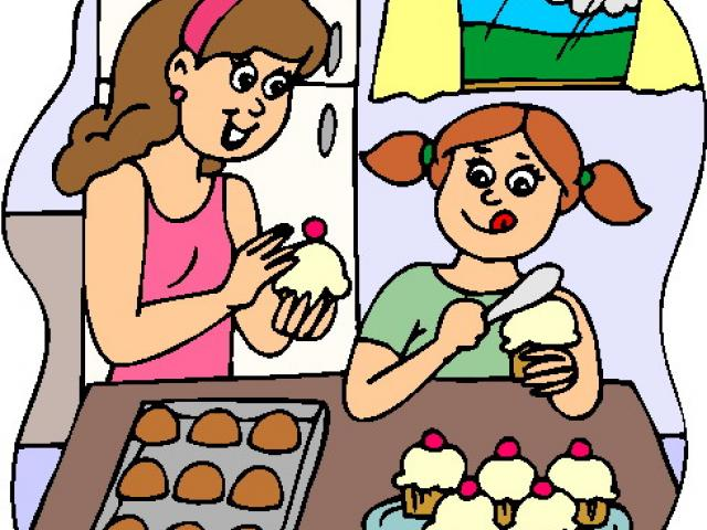 Family free on dumielauxepices. Baking clipart mum