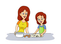 Search results for bake. Baking clipart mum