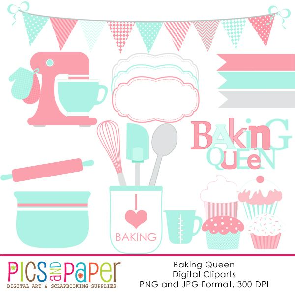 Baking clipart pastel.  best party and