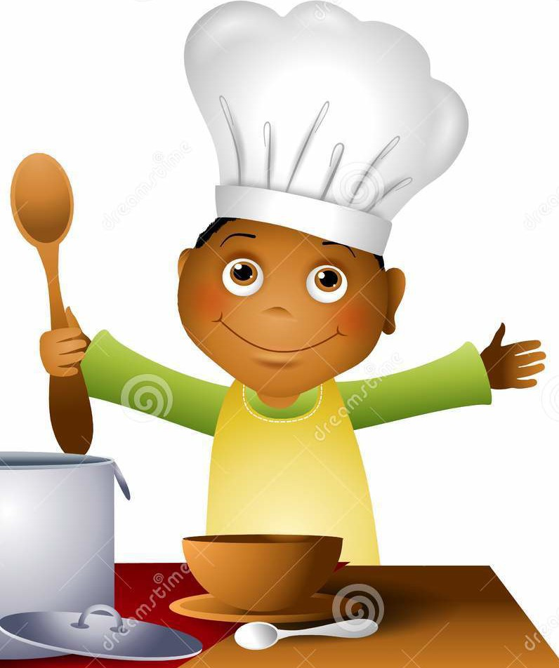 Chef junior camp classes. Baking clipart pastry