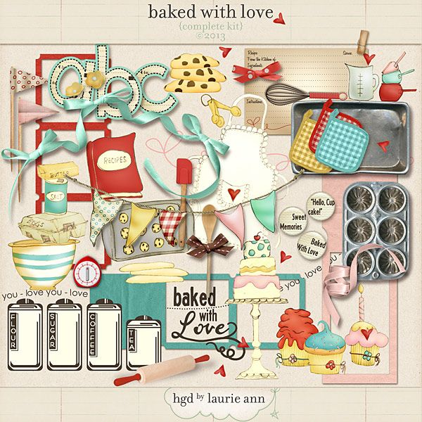 Baking clipart scrapbook.  best cooking scrapbooking