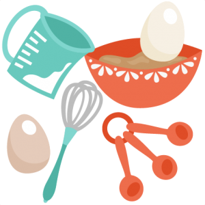 Food miss kate cuttables. Baking clipart transparent