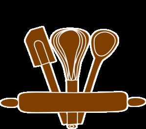 Baking clipart vector. Tools clip art at