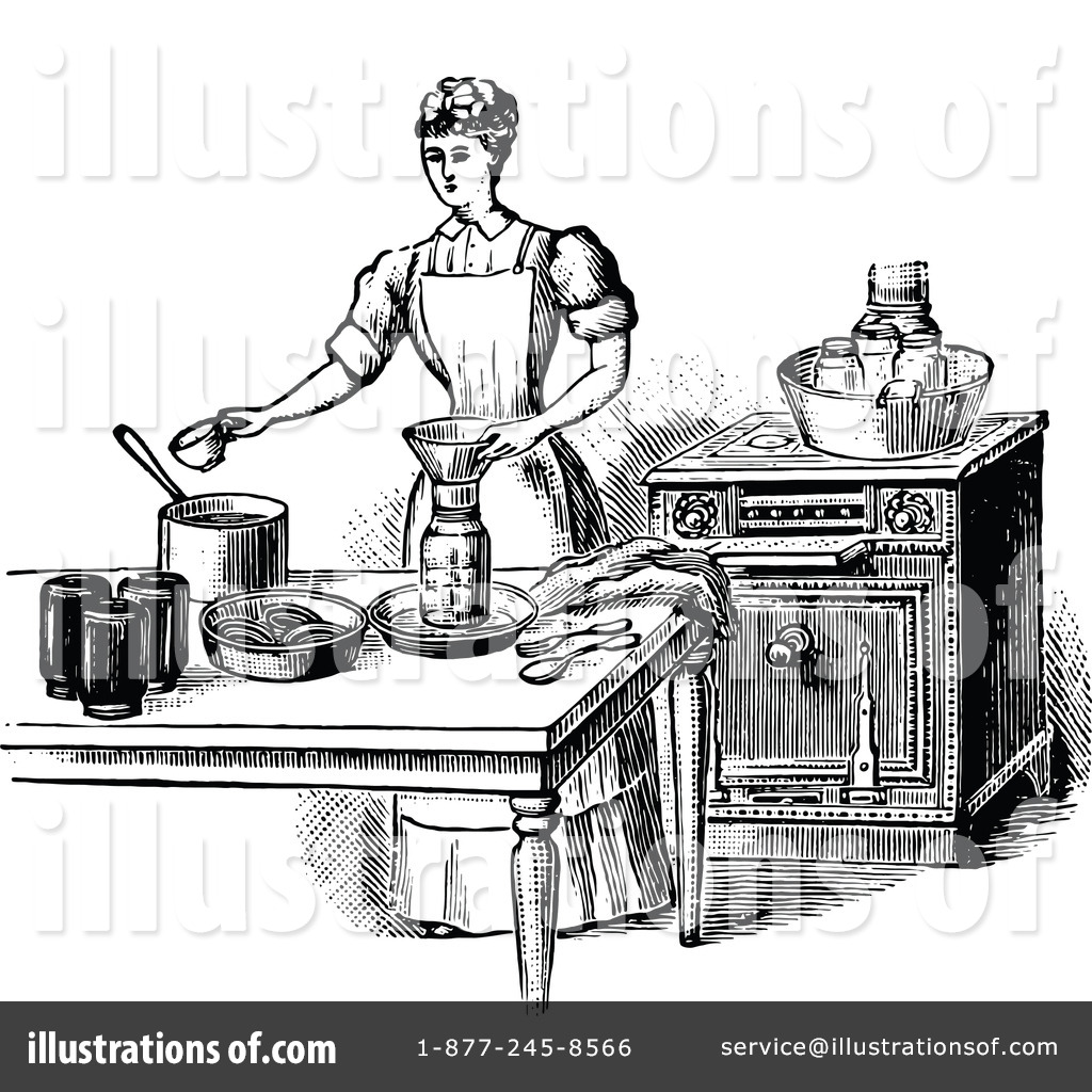 Baking clipart vintage. Illustration by prawny royaltyfree
