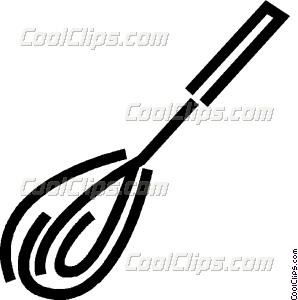 Baking clipart whisk. Vector clip art