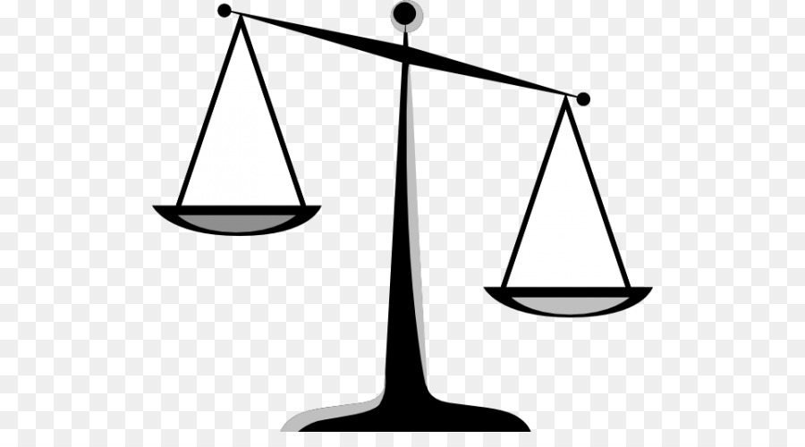 Balance clipart. Lady justice weighing scale