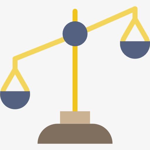 Balance clipart. A cartoon png image