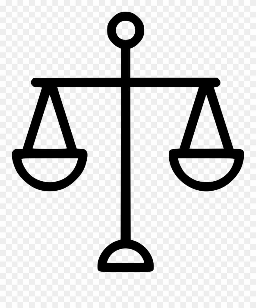Balance clipart. Scale png law icon