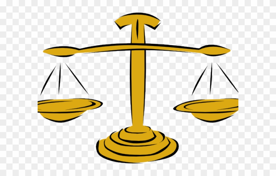 Checks and balances drawing. Scale clipart animated