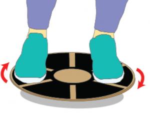 Training for seniors yes. Balance clipart balance board