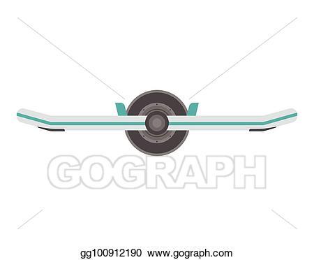 Vector illustration stock clip. Balance clipart balance board